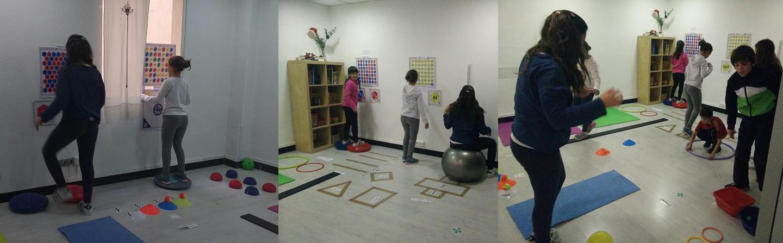 Gyncana visuo-deportiva en el Campamento de Verano de Consciencia Visual